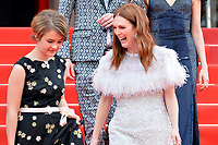 www.acepixs.com<br /> <br /> May 18 2017, Cannes<br /> <br /> Actresses Millicent Simmonds and Julianne Moore arriving at a screening of 'Wonderstruck' during the 70th annual Cannes Film Festival at Palais des Festivals on May 18, 2017 in Cannes, France<br /> <br /> By Line: Famous/ACE Pictures<br /> <br /> <br /> ACE Pictures Inc<br /> Tel: 6467670430<br /> Email: info@acepixs.com<br /> www.acepixs.com