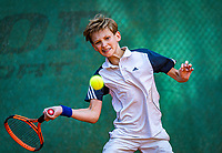 Hilversum, Netherlands, Juli 29, 2019, Tulip Tennis center, National Junior Tennis Championships 12 and 14 years, NJK, Bas Bouwman (NED)<br /> Photo: Tennisimages/Henk Koster