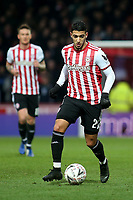 Said Benrahma of Brentford in action during Brentford vs Oxford United, Emirates FA Cup Football at Griffin Park on 5th January 2019
