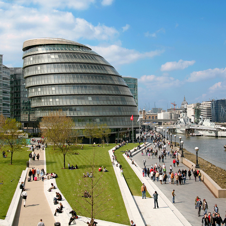 London City Hall. Architect Norman Foster. Photo by Robin Hill (c)