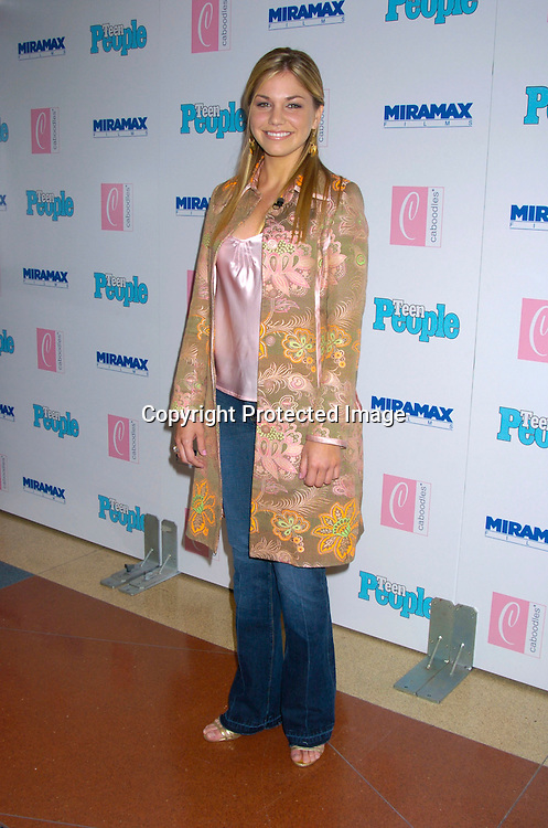 "singer Kari Kimmel ..at The Premiere of ""Ella Enchanted""  on March 28, 2004 ..at the Clearview Beekman Theatre in New York City. ..Photo by Robin Platzer, Twin Images"