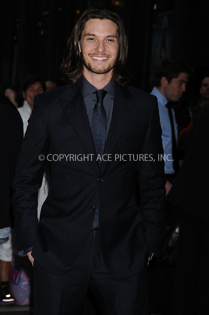 WWW.ACEPIXS.COM . . . . .  ....May 11 2009, New York City....Actor Ben Barnes arriving at a screening of 'Easy Virtue' hosted by The Cinema Society and The Wall Street Journal with Jaeger-Lecoultre and Brooks Brothers at the AMC Loews 19th Street on May 11, 2009 in New York City.....Please byline: AJ Sokalner - ACEPIXS.COM..... *** ***..Ace Pictures, Inc:  ..tel: (212) 243 8787..e-mail: info@acepixs.com..web: http://www.acepixs.com
