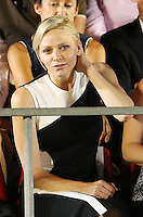 Princess Charlene attends the final of the 2013 Masters petanque tournament - Monaco