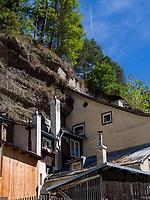 H&auml;user am Rosengartlweg in Imst. Tirol, &Ouml;sterreich, Europa<br /> houses at Rosengartlweg, Tyrol, Austria, Europe