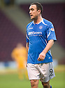 TOWIE STAR MARIA FOWLER'S BOYFRIEND, ST JOHNSTONE'S, LEE CROFT PLAYING AGAINST MOTHERWELL.