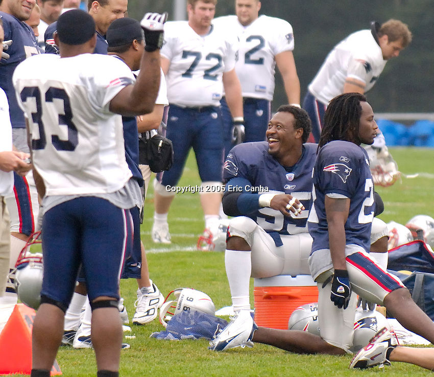 Day 10 of the New England Patriots training camp.