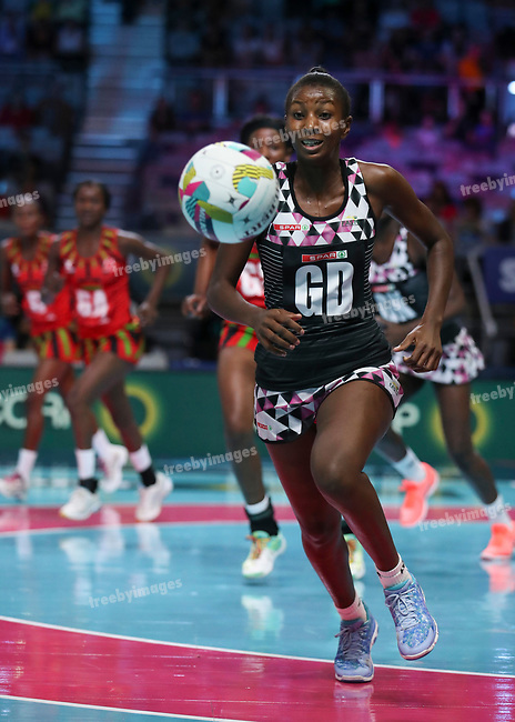 29/10/17 Fast5 2017<br /> Fast 5 Netball World Series<br /> Hisense Arena Melbourne<br /> Malawi v Sth Africa <br /> <br /> <br /> Martha Dambo<br /> <br /> <br /> <br /> Photo: Grant Treeby