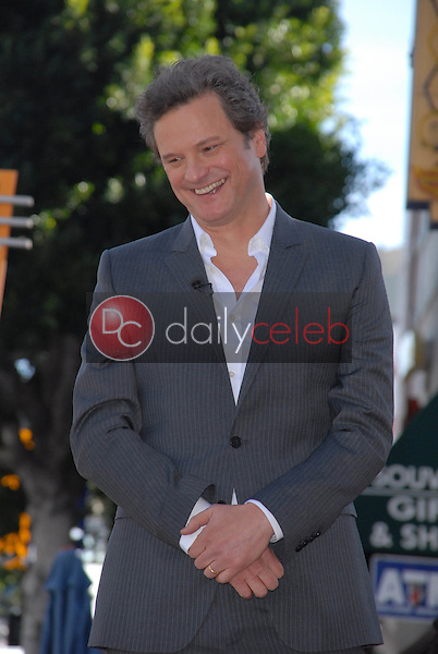 Colin Firth<br /> at the indiction ceremony for Colin Firth into the Hollywood Walk of Fame, Hollywood, CA. 01-13-11<br /> David Edwards/DailyCeleb.com 818-249-4998