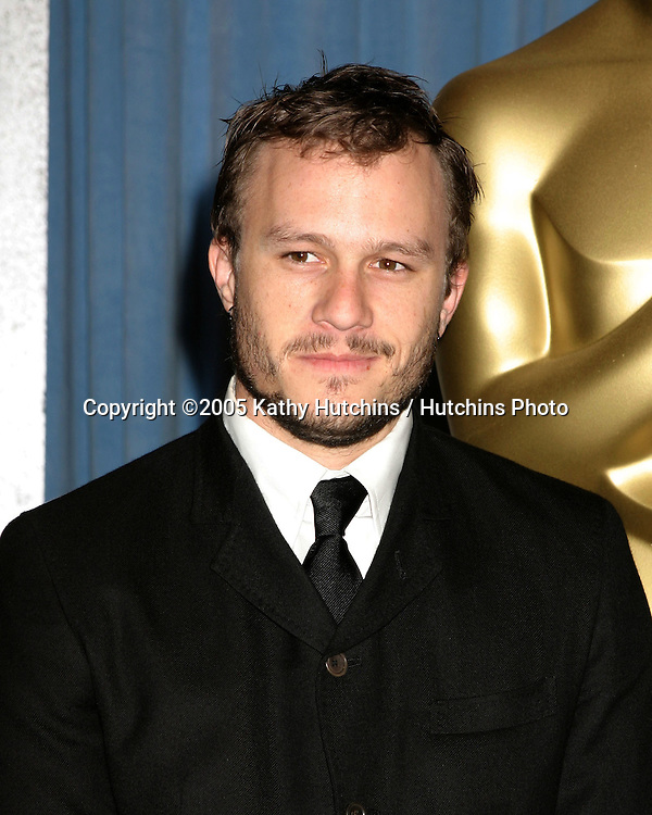 Heath Ledger .Oscar Nominee Luncheon.Beverly Hilton Hotel.February 13, 2006.©2006 Kathy Hutchins / Hutchins Photo....