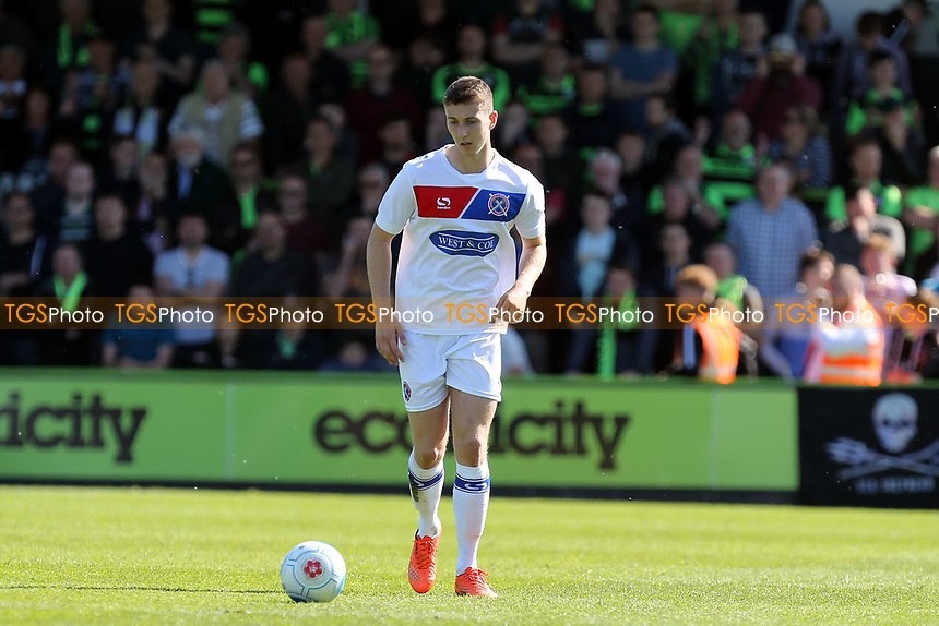 Shaun Donnellan of Dagenham and Redbridge during Forest Green Rovers vs Dagenham & Redbridge, Vanarama National League Play-Off Football at The New Lawn on 7th May 2017