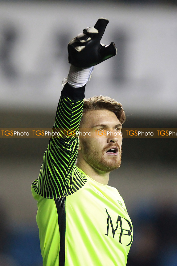 Mark Oxley of Southend United during Millwall vs Southend United, Emirates FA Cup Football at The Den on 4th November 2016