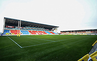 The AJ Bell Stadium prior to the European Rugby Champions Cup match between Sale Sharks and Saracens at AJ Bell Stadium, Salford, England on 18 December 2016. Photo by Paul Bell.