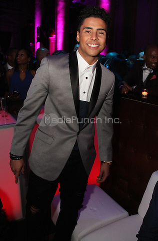 FEBRUARY 14, 2015 - NEW YORK, NY<br /> <br /> Quincy attends the NBA Players Association Party, February 14, 2015 at CAPITALE in New York City.<br /> <br /> <br /> <br /> Walik Goshorn/MediaPunch