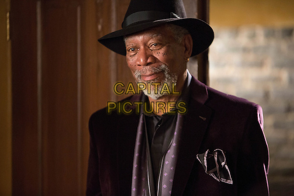 Morgan Freeman<br /> in Now You See Me (2013) <br /> *Filmstill - Editorial Use Only*<br /> CAP/NFS<br /> Image supplied by Capital Pictures