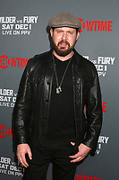 "LOS ANGELES - DEC 1:  AJ Buckley at the Heavyweight Championship Of The World ""Wilder vs. Fury"" - Arrivals at the Staples Center on December 1, 2018 in Los Angeles, CA"