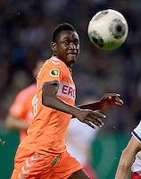 FUSSBALL   DFB POKAL   SAISON 2013/2014   2. HAUPTRUNDE Hamburger SV - SpVgg Greuther Fuerth                 24.09.2013 Abdul Rahman Baba (Fuerth) am Ball