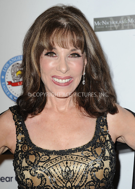 WWW.ACEPIXS.COM<br /> <br /> October 17 2015, LA<br /> <br /> Kate Linder attending the 14th Annual LAPD Eagle &amp; Badge Foundation Gala at the Hyatt Regency Century Plaza on October 17, 2015 in Los Angeles, California.<br /> <br /> <br /> By Line: Peter West/ACE Pictures<br /> <br /> <br /> ACE Pictures, Inc.<br /> tel: 646 769 0430<br /> Email: info@acepixs.com<br /> www.acepixs.com
