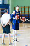 Victor Claver during the training of Spanish National Team of Basketball in Madrid previous to World Cup in China . August 21, 2019. (ALTERPHOTOS/Francis González)