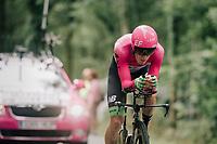 Pierre Rolland (FRA/EF Education-Drapac)<br /> <br /> Stage 20 (ITT): Saint-Pée-sur-Nivelle >  Espelette (31km)<br /> <br /> 105th Tour de France 2018<br /> ©kramon