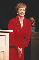 1994 <br /> Carol Burnette<br /> Photo By John Barrett-PHOTOlink.net/MediaPunch