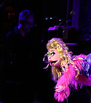 Gary Adler and Lucy the Slut during the 'Avenue Q' 15th Anniversary Reunion Concert at Feinstein's/54 Below on July 30, 2018 in New York City.