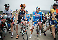 Bjorn Leukemans (BEL/Wanty-Groupe Gobert) at the start<br /> <br /> 54th Druivenkoers 2014<br /> Huldenberg - Overijse (Belgium): 196km