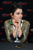 """NEW YORK - OCTOBER 5: Eve Harlow attends the press room for FOX's """"neXt"""" during the 2019 NY Comic-Con at the Jacob Javits Convention Center on October 5, 2019 in New York City. (Photo by Anthony Behar/FOX/PictureGroup)"""