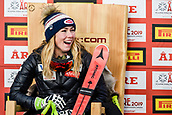 February 5th 2019, Are, Northern Sweden;  Mikaela Shiffrin of USA in for womens super-G during the FIS Alpine World Ski Championships on February 5, 2019 in Are.