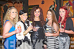 COCKTAIL BIRTHDAY: Lyndsey Kelly, Marian Park, Tralee enjoying cocktails celebrating her 22nd birthday with family and friends at Tequilas restaurant, Tralee on Thursday l-r: Claire Cunningham, Cassie Leen, Lyndsey Kelly, Jamie Kelly and Danielle Healy..