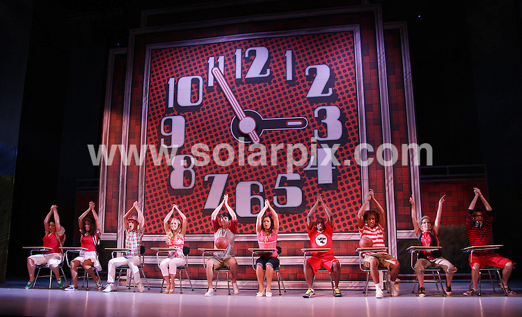 **ALL ROUND PICTURES FROM SOLARPIX.COM**.**WORLDWIDE SYNDICATION RIGHTS**.Matt Kennedy and Lauren Hall act in this years High School Musical Live on Stage production at the Wimbledon New Theatre in London on Friday 21 August 2009.The producers of the smash hit tour, based on the phenomenally successful Disney Channe Movie which opens on Saturday 22 August 2009..JOB REF: 9790      LNJ     DATE:22.08.09.**MUST CREDIT SOLARPIX.COM OR DOUBLE FEE WILL BE CHARGED**.**MUST NOTIFY SOLARPIX OF ONLINE USAGE**.**CALL US ON: +34 952 811 768 or LOW RATE FROM UK 0844 617 7637**