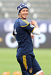 19 November 2011: David Beckham (ENG). The Los Angeles Galaxy held a practice session at the Home Depot Center in Carson, CA one day before playing in MLS Cup 2011.