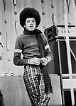 Michael Jackson Jackson 5 1972 at Royal Variety at London Palladium