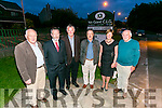 Enjoying the Na Gaeil GAA e 25 years Celebration  of their clubhouse on Saturday were l-r  PJ O'Halloran, Sean Kelly, MEP,  Denis Reen, Michael McGoff, Juliette Kelly and Pat O'Connor.