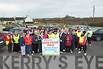 Spa/Fenit Hospice who headed off on their Annaul 5k walk to raise funds for the Spa.Fenit Hosp[ce.