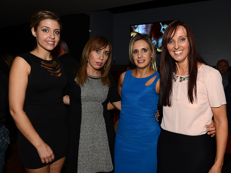 Nicole Carrie, Sonya Flanagan, Deirdre Bateson and Louise Flanagan pictured at the Stephanie Smith benefit night in The Star Bar. Photo:Colin Bell/pressphotos.ie