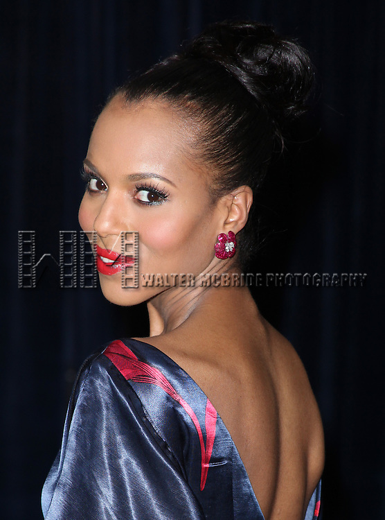 Kerry Washington.attending the White House Correspondents' Association (WHCA) dinner at the Washington Hilton Hotel in Washington, D.C..
