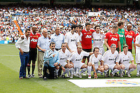 03.06.2012 SPAIN -  Corazon Classic Match 3rd Match played between Real Madrid CF vs Manchester United (3-2) at Santiago Bernabeu stadium. The picture show