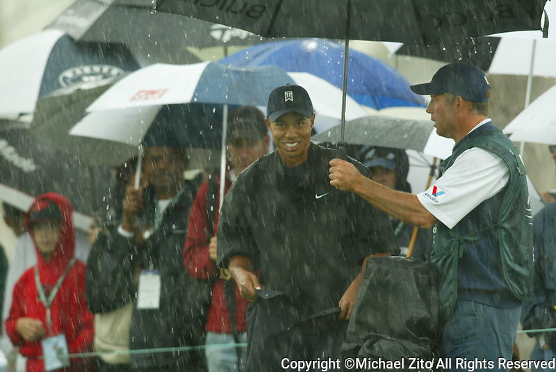 Tiger Woods during Match Play Championship- La Costa Resort- Carlsbad, CA