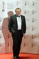 12/2/11 Brendan Gleeson on the red carpet at the 8th Irish Film and Television Awards at the Convention centre in Dublin. Picture:Arthur Carron/Collins