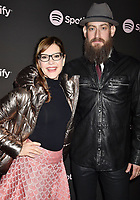 LOS ANGELES, CA - FEBRUARY 07: Lisa Loeb (L) and Roey Hershkovitz attend Spotify's Best New Artist Party at the Hammer Museum on February 07, 2019 in Los Angeles, California.<br /> CAP/ROT/TM<br /> ©TM/ROT/Capital Pictures