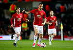 Zlatan Ibrahimovic of Manchester United during the UEFA Europa League Quarter Final 2nd Leg match at Old Trafford, Manchester. Picture date: April 20th, 2017. Pic credit should read: Matt McNulty/Sportimage