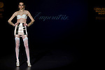 04.05.2012. A model presents Lingerie designs of Emperatriz at the Cibeles Madrid Novias in Ifema (Alterphotos/Marta Gonzalez)