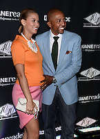 NEW YORK, NY - JUNE 12: Erika Liles and Kevin Liles pictured at the GO N'SYDE 40/40 Bottle  Launch Party at the 40/40 club in New York City ,June 12, 2014 © HP/Starlitepics.