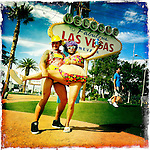 Las Vegas Baby, only in Las Vegas April 25, 2012. ©Fitzroy Barrett