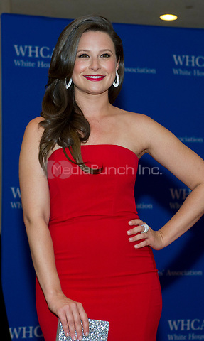 Katie Lowes arrives for the 2014 White House Correspondents Association Annual Dinner at the Washington Hilton Hotel on Saturday, May 3, 2014.<br /> Credit: Ron Sachs / CNP<br /> (RESTRICTION: NO New York or New Jersey Newspapers or newspapers within a 75 mile radius of New York City) /MediaPunch