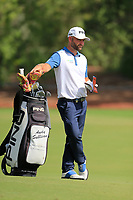 Andy Sullivan (ENG) on the 16th fairway during the 2nd round of the DP World Tour Championship, Jumeirah Golf Estates, Dubai, United Arab Emirates. 16/11/2018<br /> Picture: Golffile | Fran Caffrey<br /> <br /> <br /> All photo usage must carry mandatory copyright credit (© Golffile | Fran Caffrey)