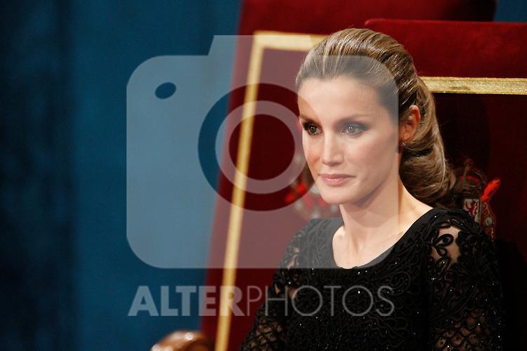 OVIEDO, Spain (22/10/2010).-  Prince of Asturias Awards 2010 Ceremony...Photo: POOL / Robert Smith  / ALFAQUI