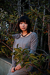 Tokyo, January 31 2013 - Portrait of Japanses writer Risa Wataya.