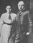 Ivan Vladimirovich Tsvetaev and Marina Tsvetaeva. Dresden, 1905<br /> Иван Владимирович Цветаев и Марина Цветаева. Дрезден, 1905 г.