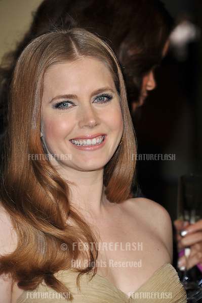 Amy Adams at the 63rd Annual Directors Guild of America Awards at the Grand Ballroom at Hollywood & Highland complex, Hollywood...January 29, 2011  Los Angeles, CA.Picture: Paul Smith / Featureflash